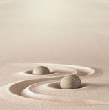 Zen garden meditation wellness stone Royalty Free Stock Photo