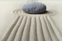Zen garden meditation stone Stock Photos