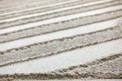 Zen garden sand Stock Image