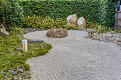 Zen garden at Shoren-in Temple Stock Image