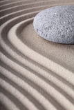 Zen garden spa meditation stone background Royalty Free Stock Photography