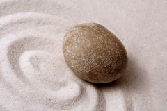 Zen garden stone Stock Photos
