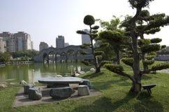 Zen garden Taiwan Stock Photography