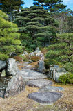 Zen garden from Tokyo Imperial Palace Royalty Free Stock Images