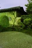 Zen-Garten Nacht Lizenzfreie Stockfotos