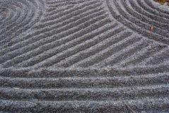 Zen giapponese del giardino Immagini Stock Libere da Diritti