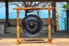 Zen gong. Temple in Thailand Stock Photos