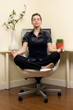 Zen Home Office Royalty Free Stock Photo