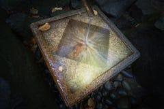 Zen im Zen Stockbild