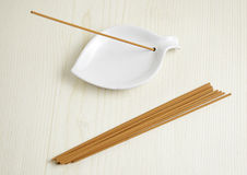 Zen incense Royalty Free Stock Images