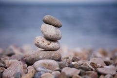 zen jak balansowi kamienie Zdjęcie Stock