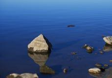 Zen jezioro Fotografia Stock