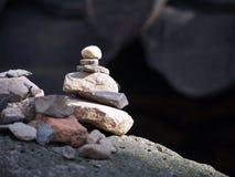 Zen kamień Obrazy Royalty Free
