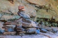 Zen kamienia wierza Obrazy Royalty Free