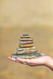 Zen kamienie Zdjęcia Royalty Free