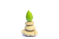 Zen kamienie Obrazy Royalty Free