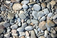 Zen-like pebbles Royalty Free Stock Images