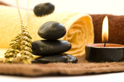 Zen like spa. With weath Royalty Free Stock Photo