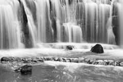 Zen like waterfall. This is a tranquil water fall in New Zealand Royalty Free Stock Images