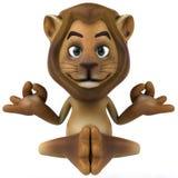 Zen lion Stock Photo