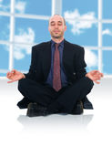 Zen Man Royalty Free Stock Photo