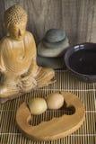 Zen Massage Roller Foto de archivo libre de regalías