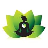 Zen Mediation Ying Yang Stock Images