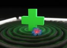 Zen medico Fotografia Stock