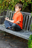 Zen-Meditation Stockbild