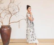 Zen Meditation-The artistic conception of Zen tea Stock Photo