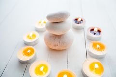 Zen Meditation Harmony Balance royalty-vrije stock foto