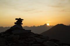 Zen meditation landscape Stock Photo