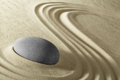 Zen meditation stone background Stock Images