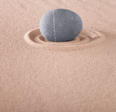 Zen meditation stone Stock Images