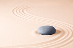 Zen meditation stone garden background Stock Images