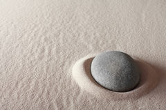 Zen meditation stone spa background Stock Image
