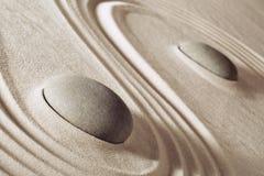 Zen meditation stones Stock Image