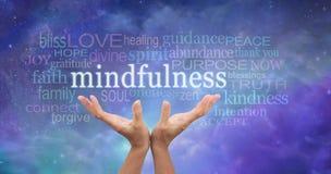 Zen Mindfulness medytacja Zdjęcia Stock