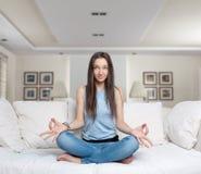Zen moment at home Stock Photos