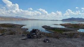 Zen nel deserto del MOHAVE Immagine Stock