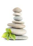 Zen otoczaków równowaga Obrazy Stock