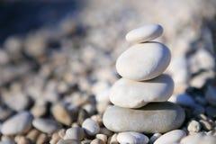 Zen otoczaka kamienie Obraz Stock