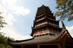Zen Pagoda in Suzhou Royalty Free Stock Image