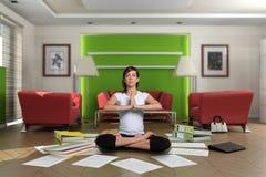 Zen paperwork Royalty Free Stock Images