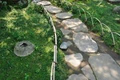 Zen pathway Stock Photo