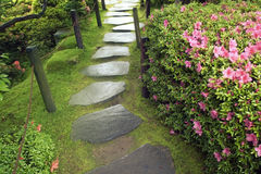 Zen Pathway Royalty Free Stock Photos