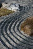 Zen Patterned Garden Stock Photography
