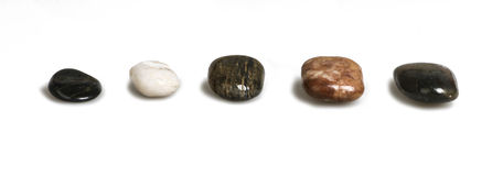 Zen pebble Stock Photo