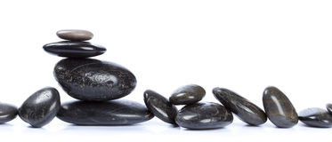 Zen Pebbles Stock Photography