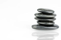 Zen pebbles Royalty Free Stock Photography